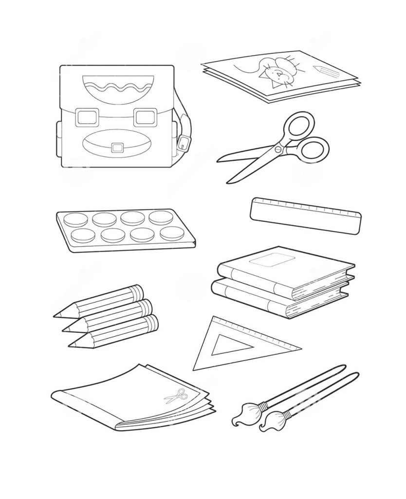 Рисунки про школу и на школьную тематику карандашом025