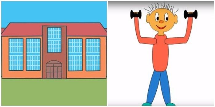 Рисунки про школу и на школьную тематику карандашом026