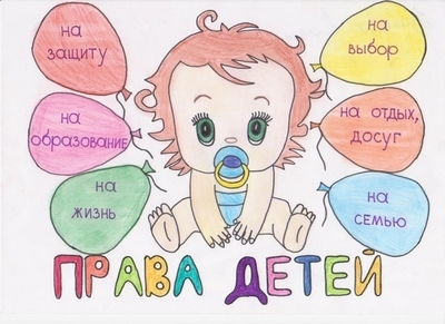 Рисунок на тему права ребенка в рисунках детей002