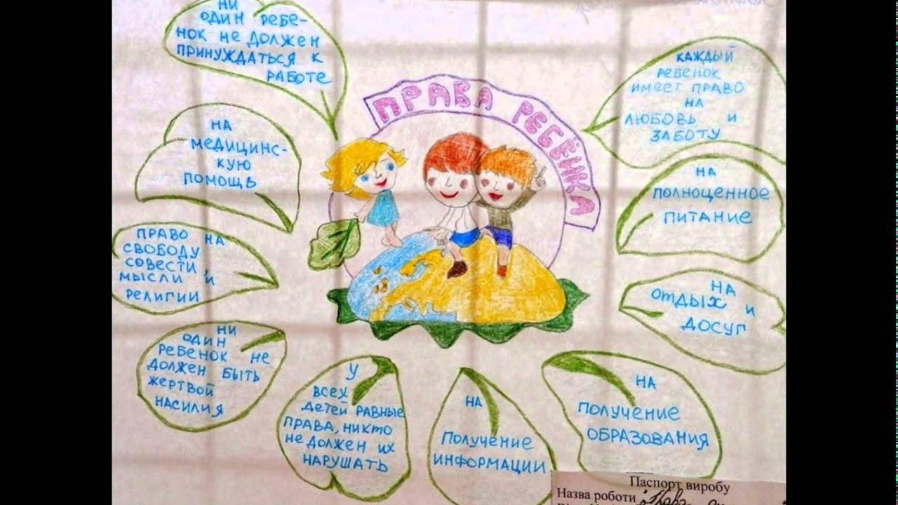 Рисунок на тему права ребенка в рисунках детей003