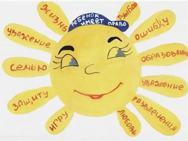 Рисунок на тему права ребенка в рисунках детей004