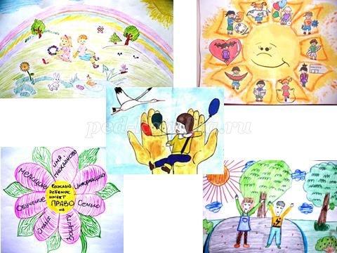 Рисунок на тему права ребенка в рисунках детей014
