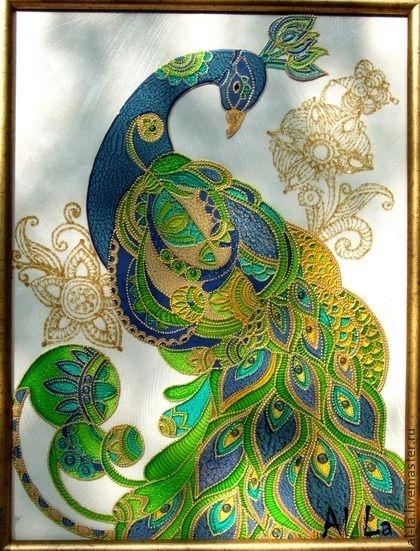 Роспись по стеклу фото и картинки009