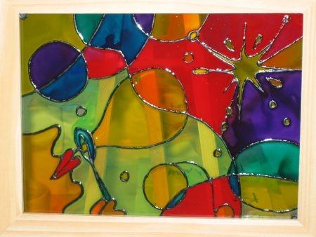 Роспись по стеклу фото и картинки014