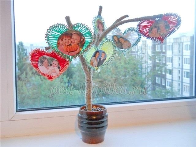 Семейное древо поделка в школу016