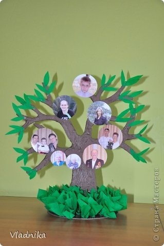 Семейное древо поделка в школу017