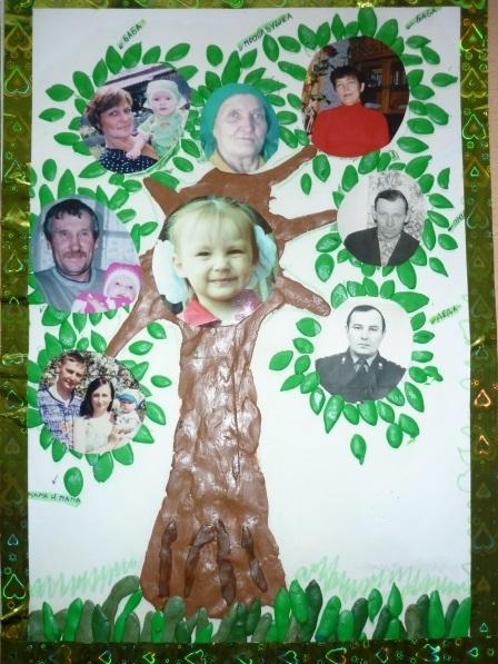 Семейное древо фото в садик001