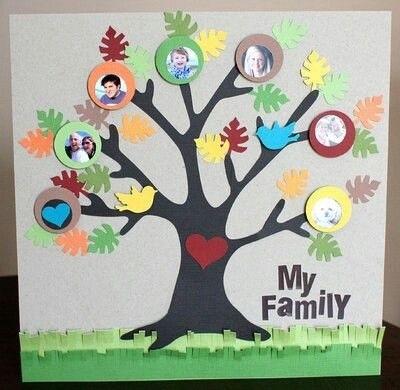 Семейное древо фото в садик016