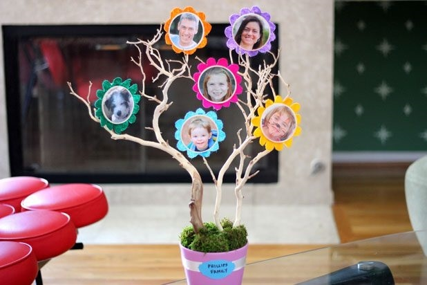 Семейное древо фото в садик019