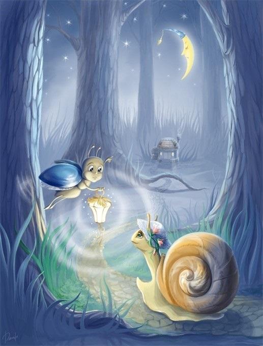 Сказочный мир в рисунках002