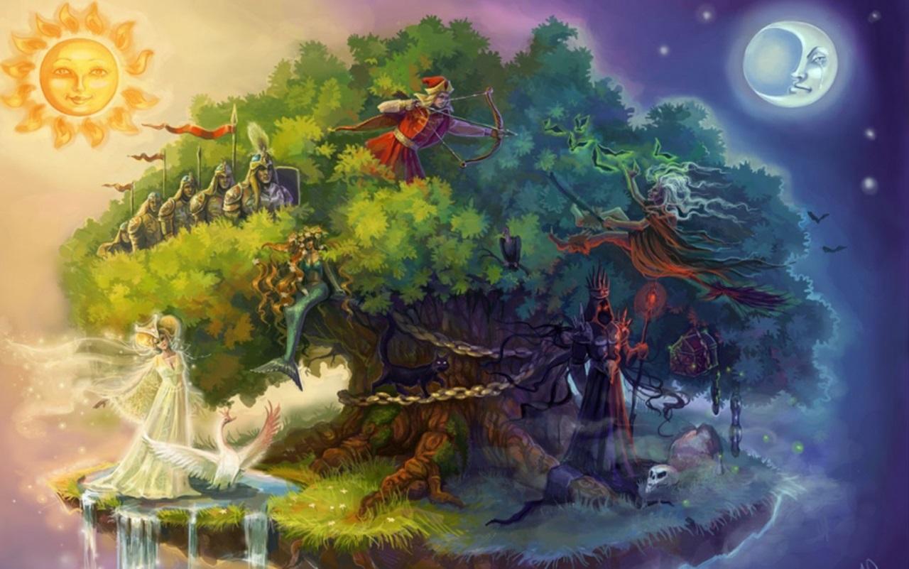 Сказочный мир в рисунках010
