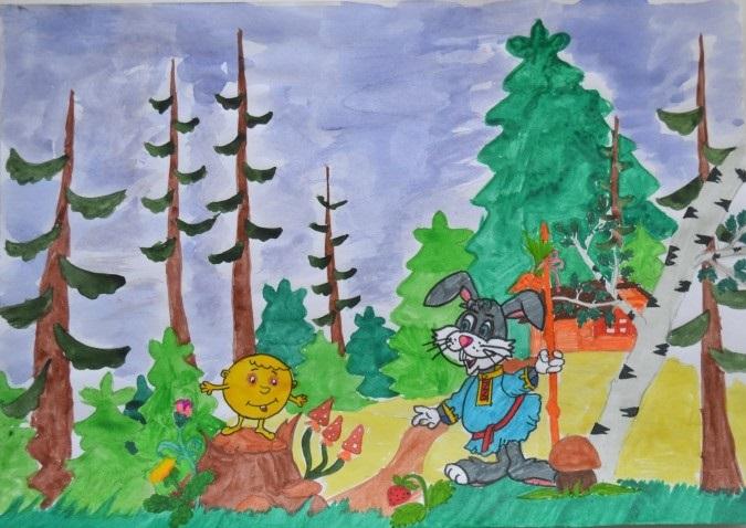 Сказочный мир в рисунках011