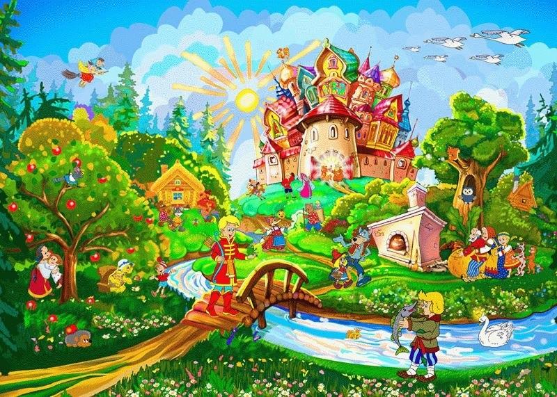 Сказочный мир в рисунках012