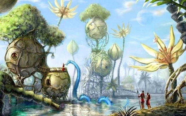 Сказочный мир в рисунках013