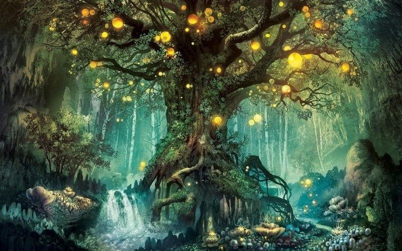 Сказочный мир в рисунках019