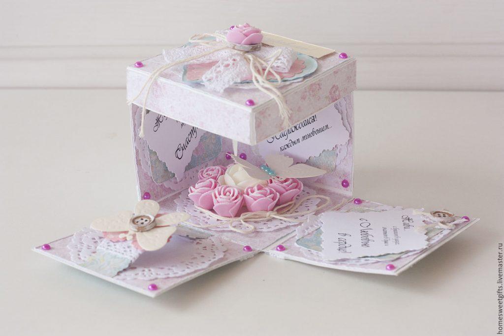Скрапбукинг коробочка на новый год - фото идеи (21)