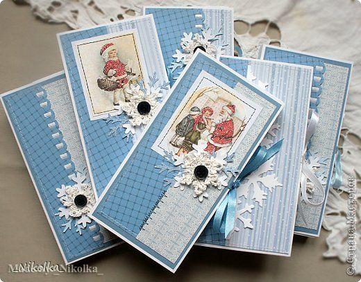Скрапбукинг коробочка на новый год - фото идеи (4)