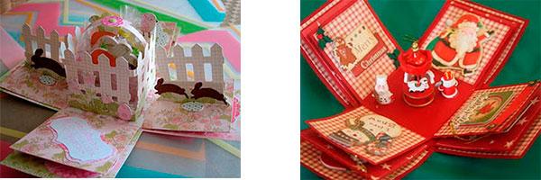 Скрапбукинг коробочка на новый год - фото идеи (9)