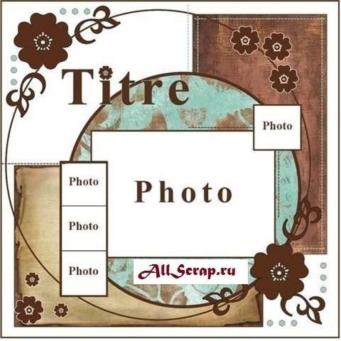 Скрапбукинг скетчи альбом красивые картинки оформления015