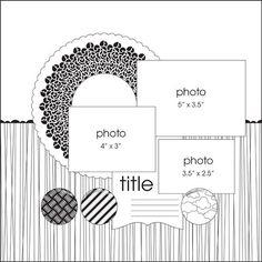 Скрапбукинг скетчи альбом красивые картинки оформления024