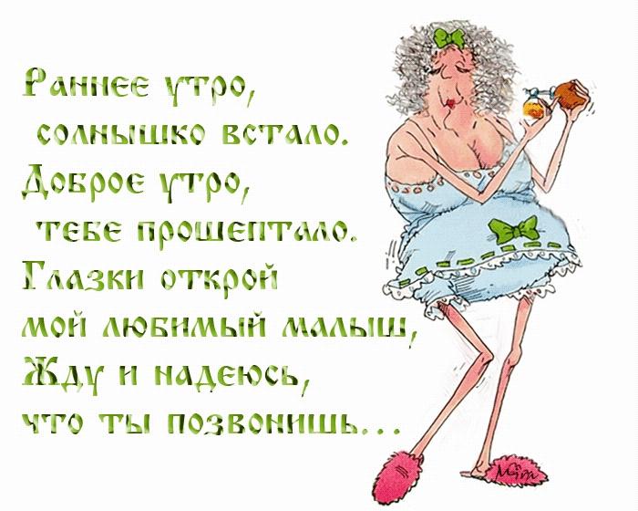 анимация с юмором доброе утро аиста