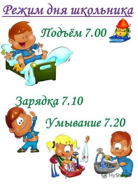 Соблюдай режим дня картинки и рисунки021