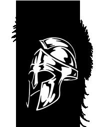 Спартанский шлем тату эскизы (27)
