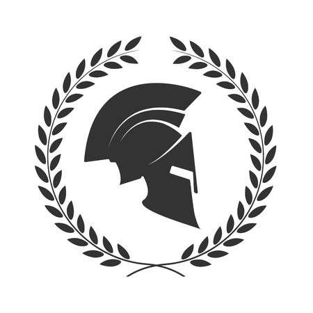 Спартанский шлем тату эскизы (28)