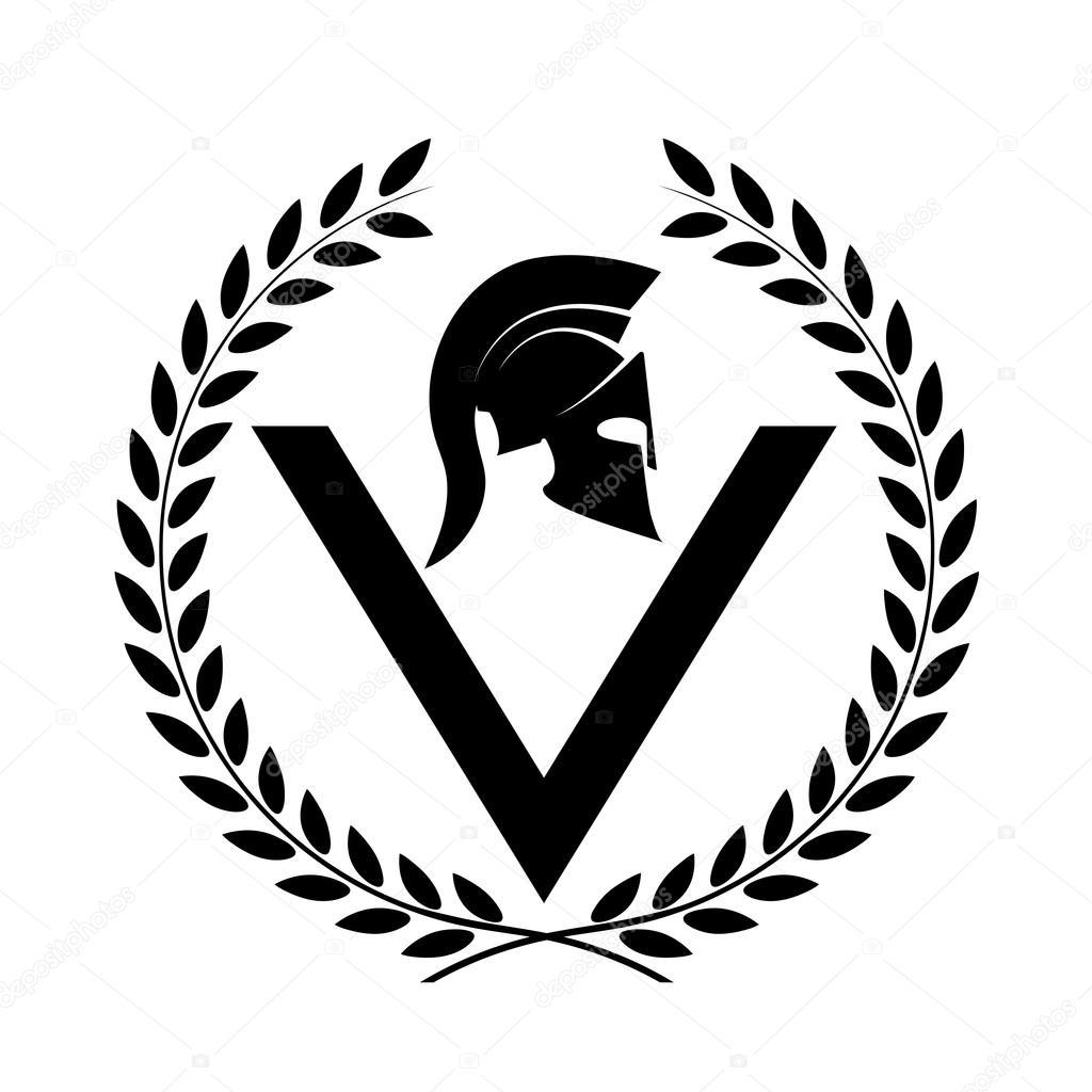 Спартанский шлем тату эскизы (36)