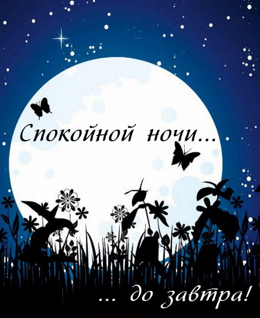 Спокойной ночи осенью картинки и открытки (12)