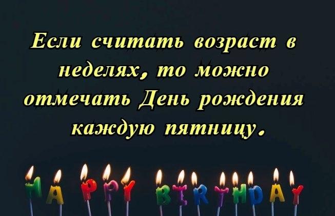 Статусы в картинках про день рождения006