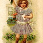 С днем рождения антикварные открытки