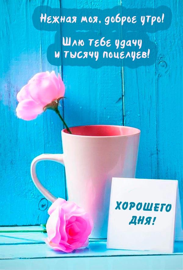 С добрым утром милая картинки красивые с надписями (2)