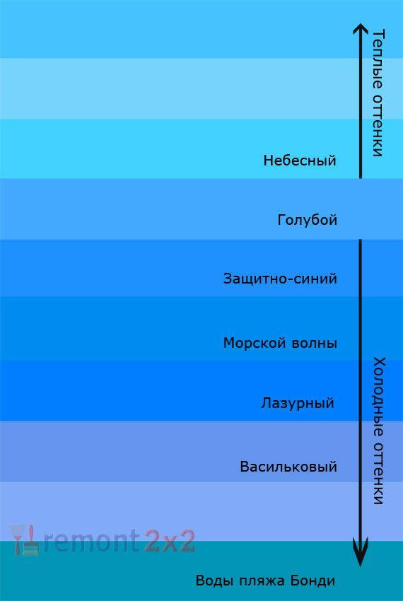 Теплый оттенок синего цвета - картинки (22)