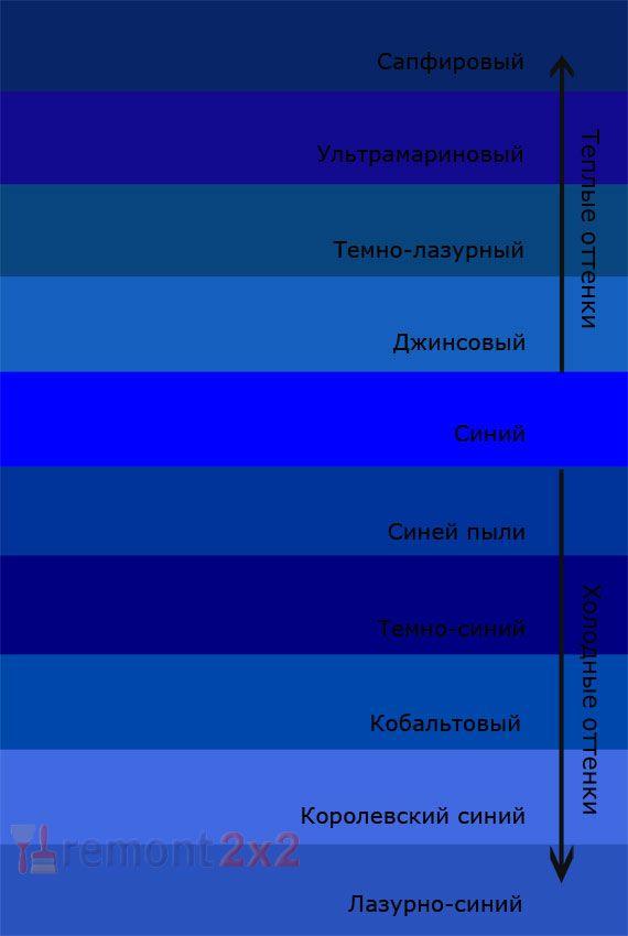 Теплый оттенок синего цвета - картинки (23)
