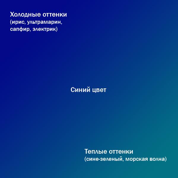 Теплый оттенок синего цвета - картинки (9)