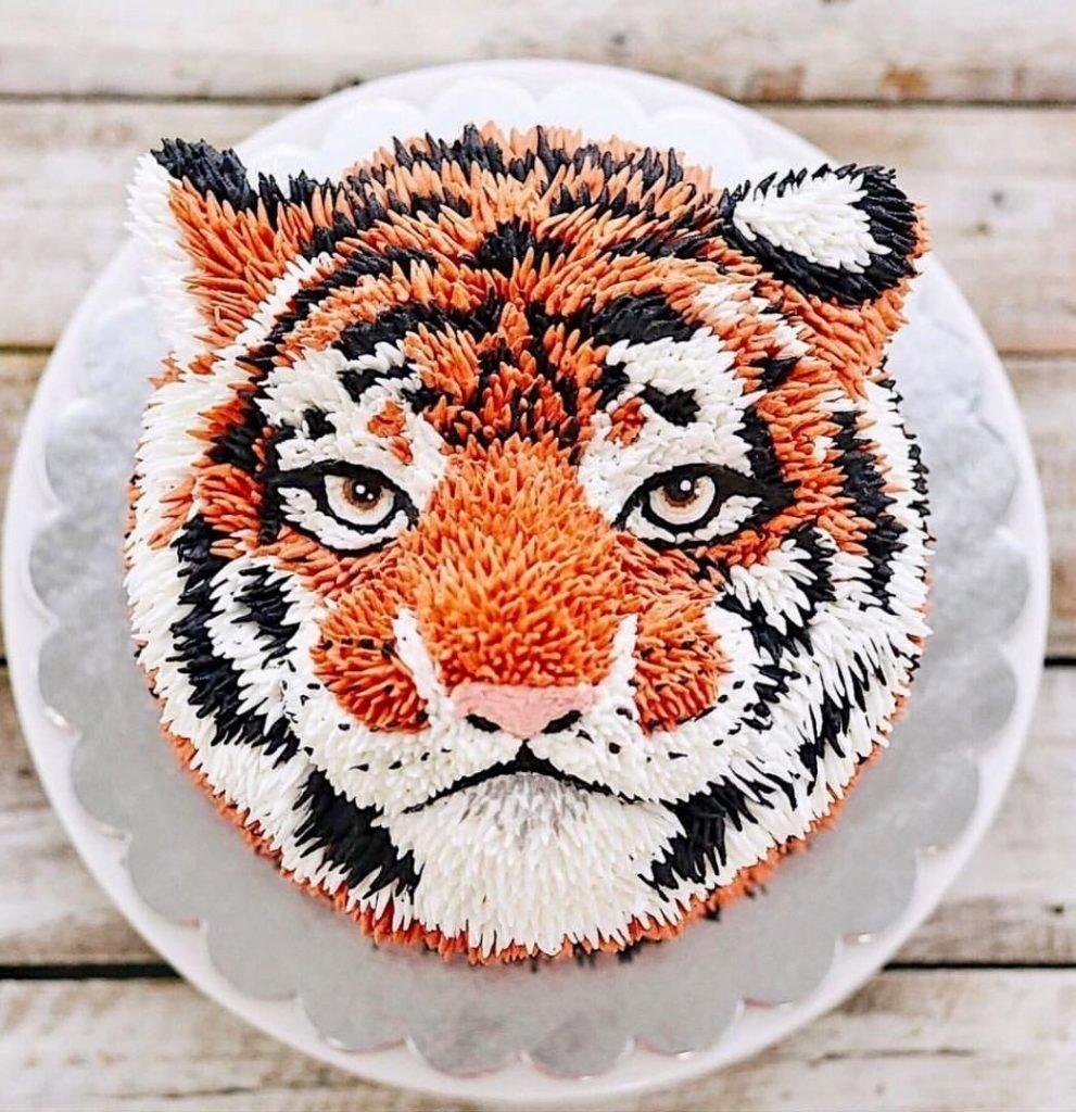 Тигр торт красивые фото001
