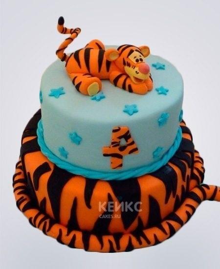 Тигр торт красивые фото004