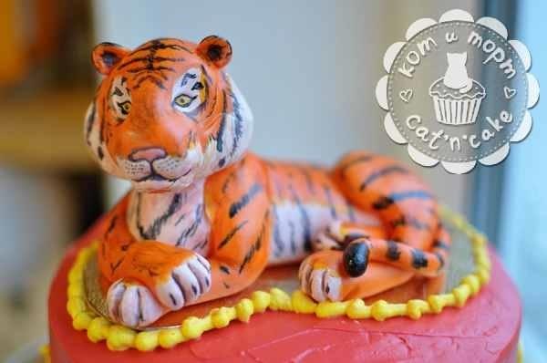 Тигр торт красивые фото008