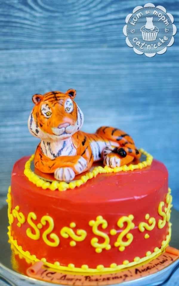 Тигр торт красивые фото009