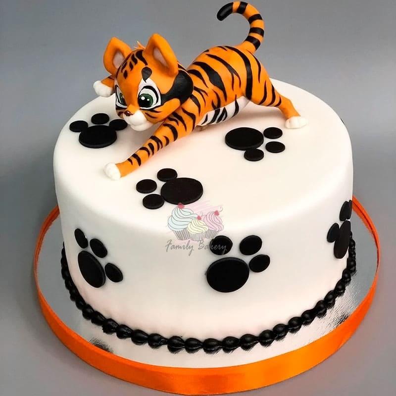 Тигр торт красивые фото013