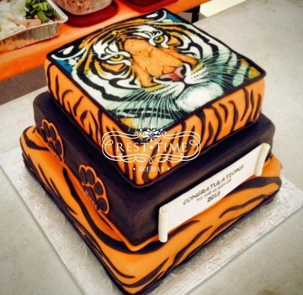 Тигр торт красивые фото014