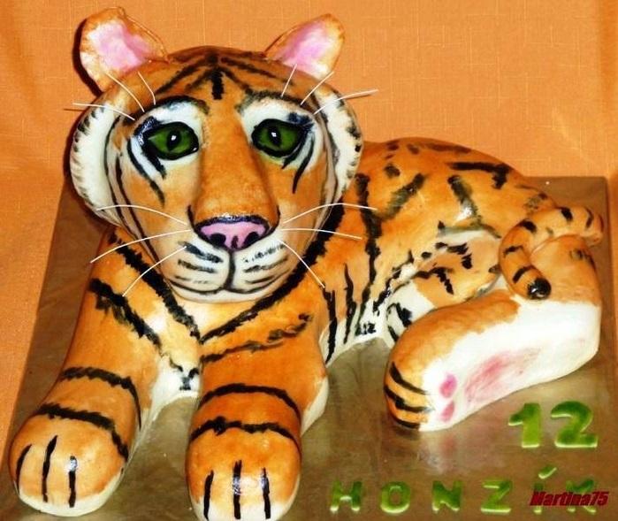 Тигр торт красивые фото019