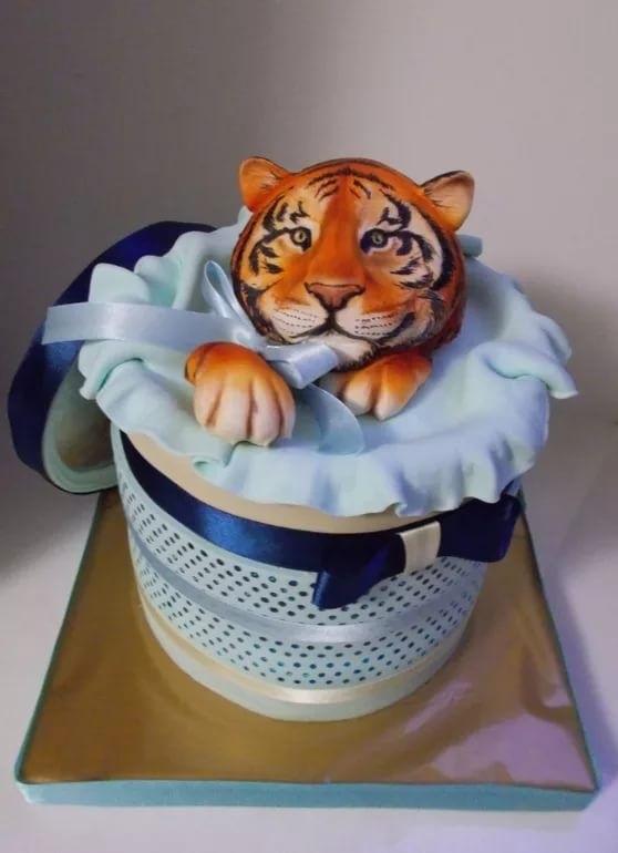 Тигр торт красивые фото020