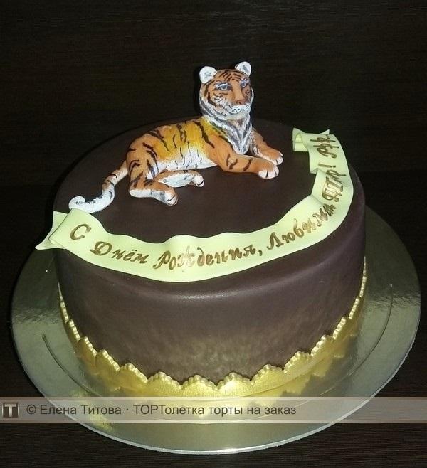 Тигр торт красивые фото021
