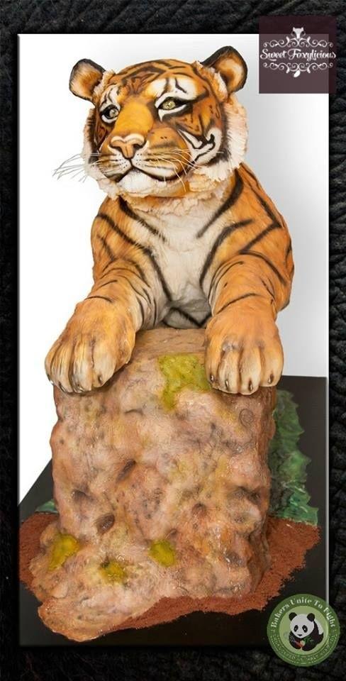Тигр торт красивые фото022