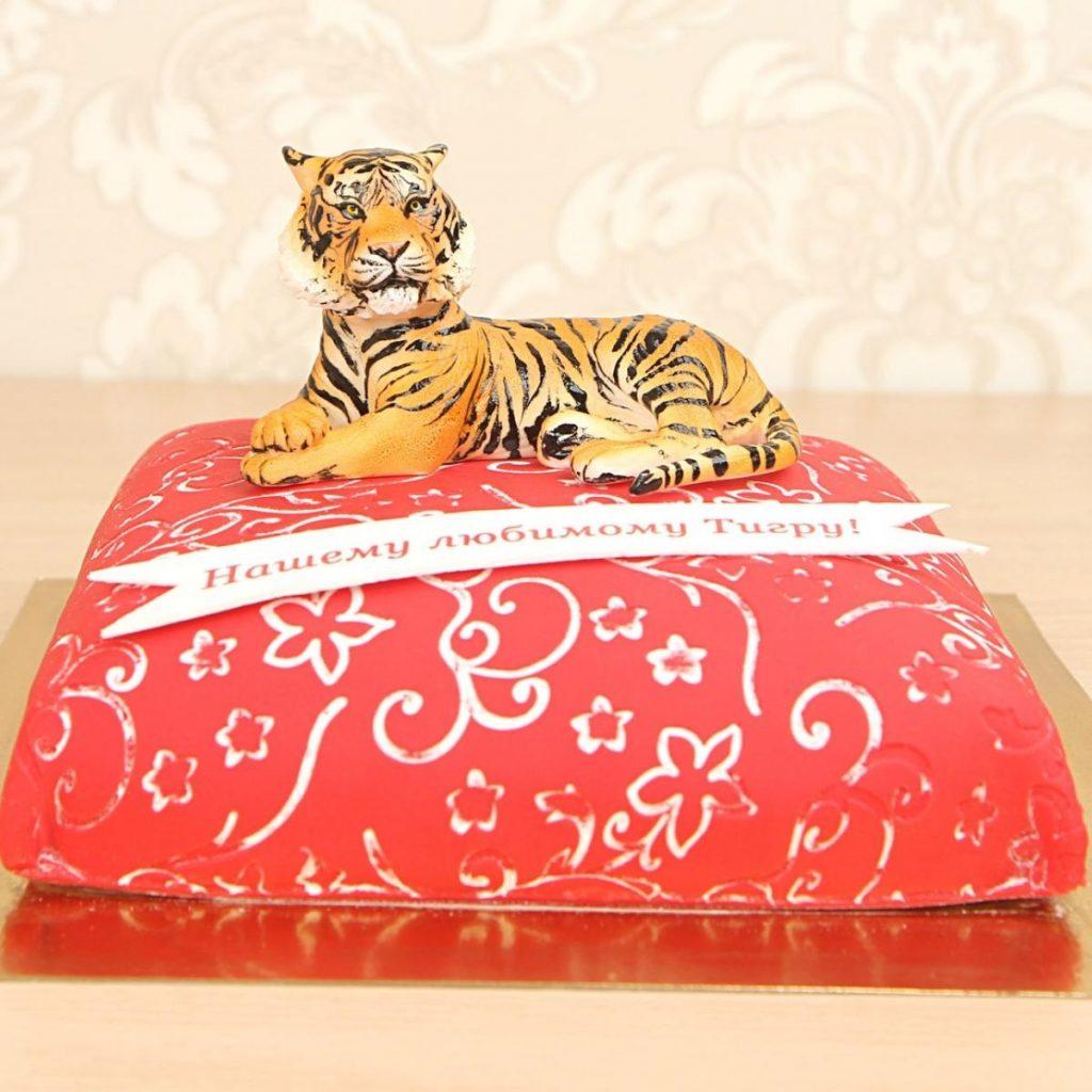 Тигр торт красивые фото023