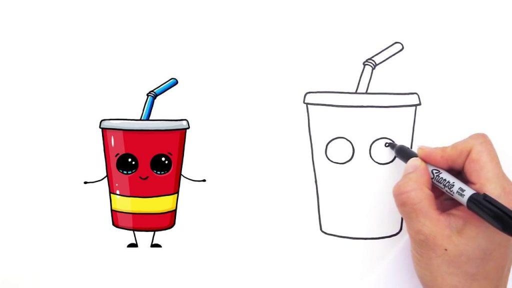 Топовые нарисованные картинки еда и напитки (15)