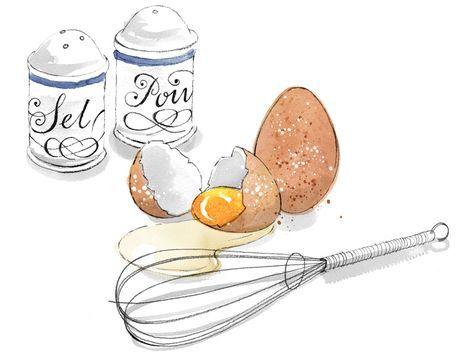 Топовые нарисованные картинки еда и напитки (23)