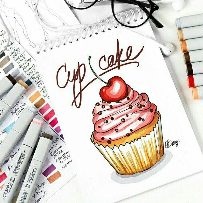 Топовые нарисованные картинки еда и напитки (40)